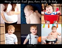 Henry {Baby's First Year}