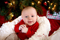 Archie {3 Months - First Christmas}